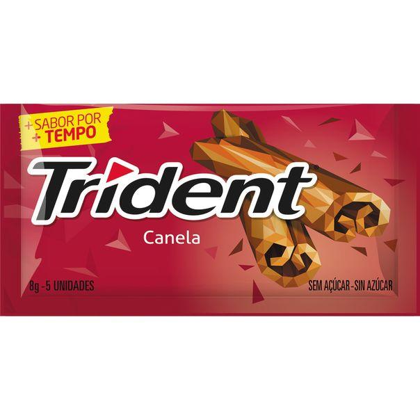 Chiclete-Trident-Canela-8g