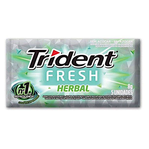 Chiclete-Trident-Herbral-Fresh-5S-8g