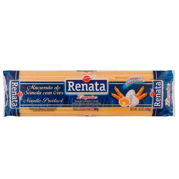 Macarrao-com-Ovos-Linguine-Renata-500g