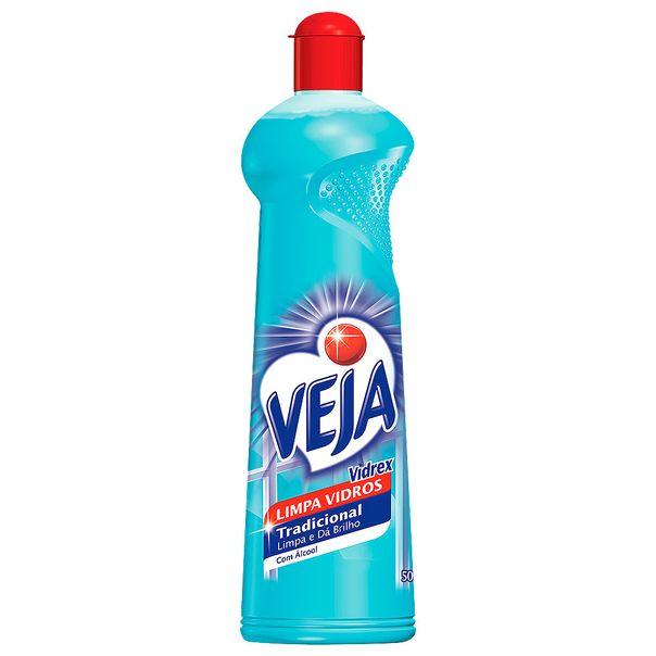 Limpa-Vidro-Veja-Vidrex-Alcool-Squeeze-500ml
