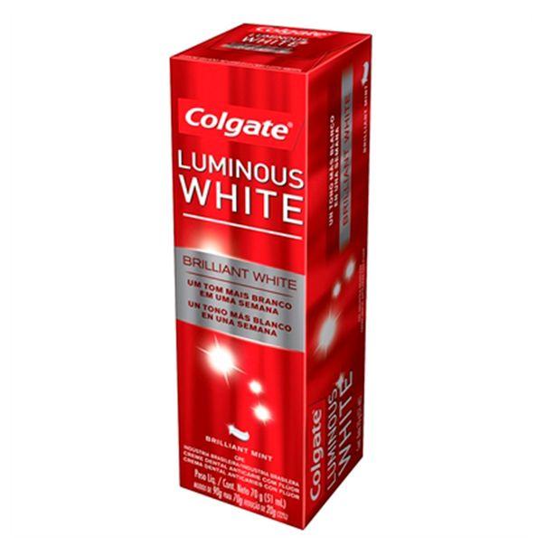 Creme-Dental-Colgate-Luminous-White-70g