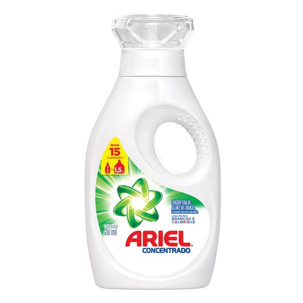 Lava-Roupa-Liquido-Ariel-Concentrado-15-Lavagens-630ml