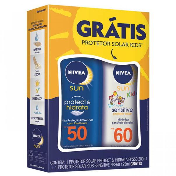 Protetor-Solar-Nivea-FPS50-200ml-Gratis-Kids-125ml