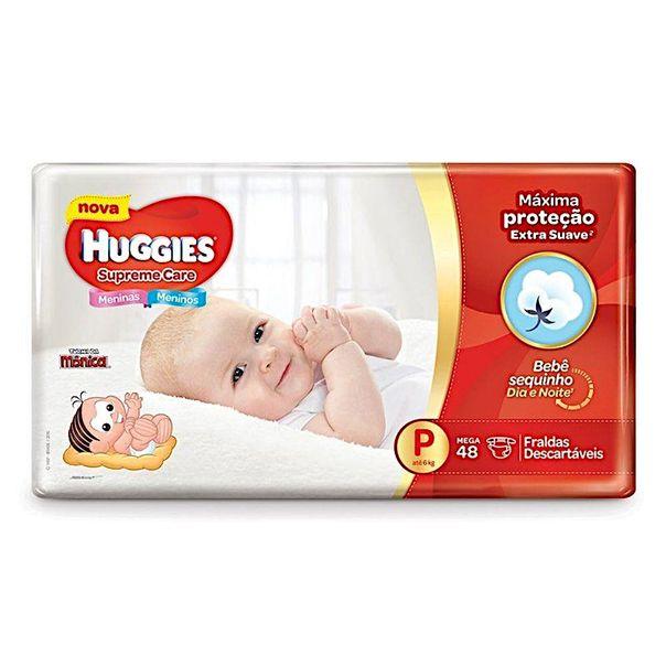 Fralda-Huggies-Supreme-Care-Mega-P-com-48-Unidades