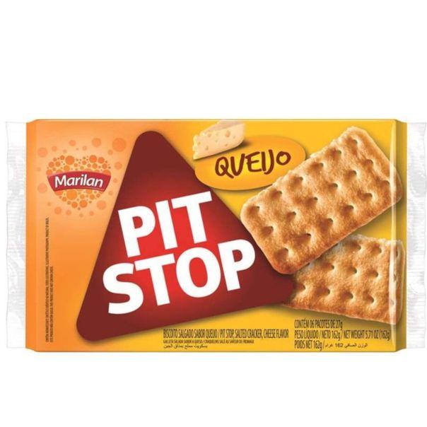 Biscoito-salgado-pit-stop-sabor-queijo-pacote-Marilan-162g