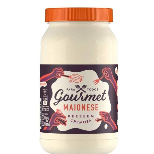 Maionese-cremosa-Gourmet-500g