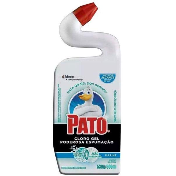Desinfetante-cloro-gel-poderosa-espumacao-citrus-Pato-500ml