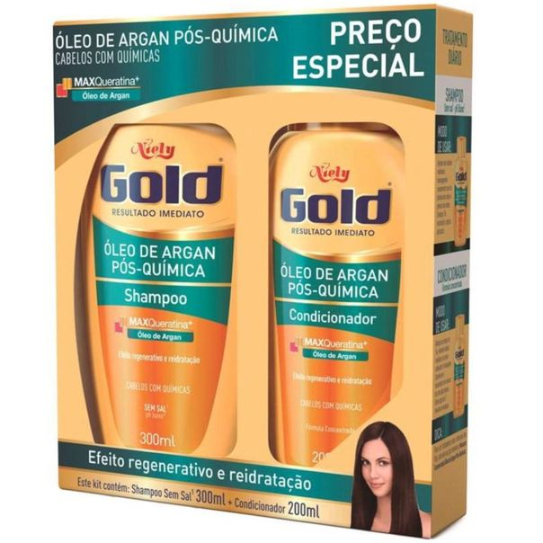 Kit-shampoo---condicionador-oleo-de-argan-pos-quimica-Niely-Gold