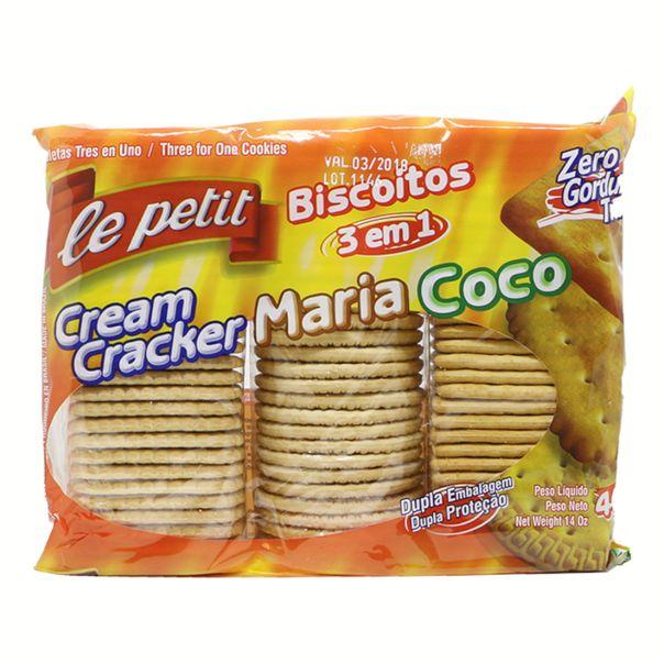 Biscoito-3-em-1-Cracker-Maria-Coco-Le-Petit-400g