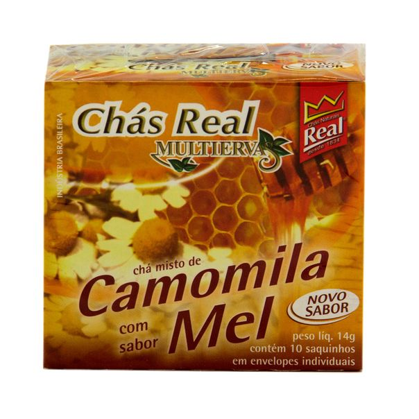 Cha-Camomila-Mel-Real-14g