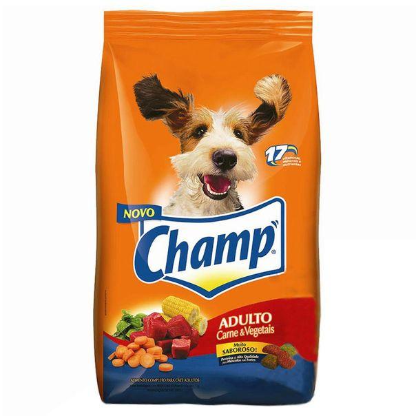 Alimento-para-Caes-Champ-Carne-e-Vegetais-1kg