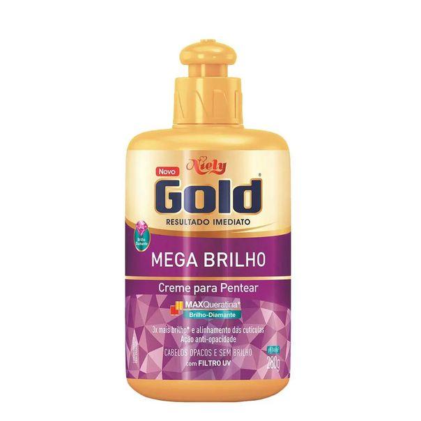 Creme-para-pentear-mega-brilho-Niely-Gold-280g
