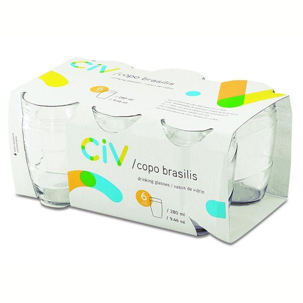Conjunto-de-copo-com-6-unidades-de-vidro-Brasilis