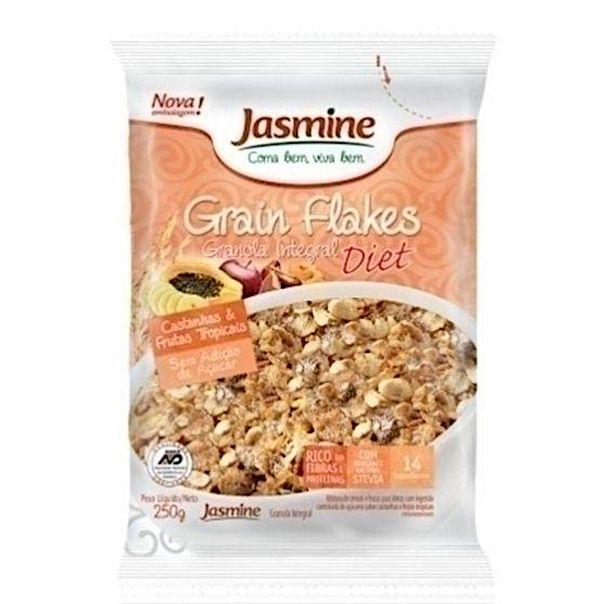 Granola-integral-grain-flakes-diet-castanhas-e-frutas-tropicais-Jasmine-250g