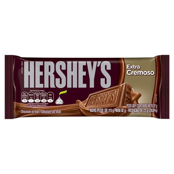 Tablete-de-chocolate-ao-leite-cremoso-Hershey-s-92g