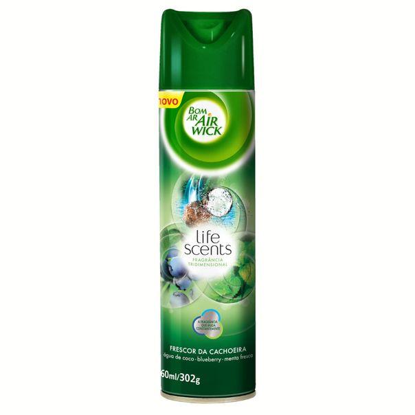Desodorizador-de-ar-aerosol-bom-ar-frescor-da-cachoeira-Air-Wick-360ml