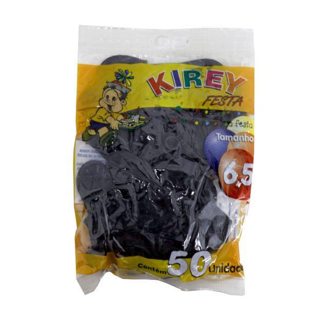 Balao-liso-nº6-preto-com-50-unidades-Kirey