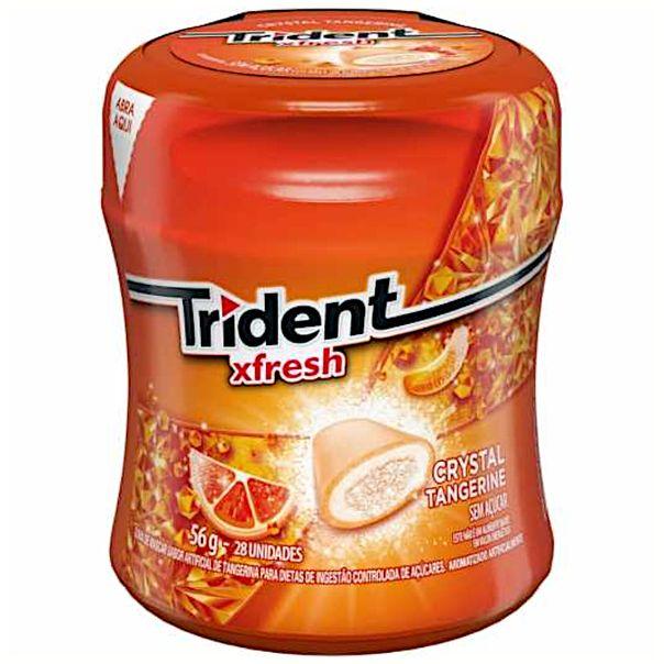 Goma-de-mascar-x-fresh-sabor-tangerina-Trident-56g