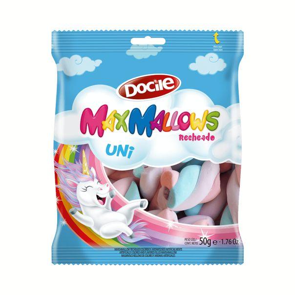 Marshmallow-recheado-unicornio-Docile-50g