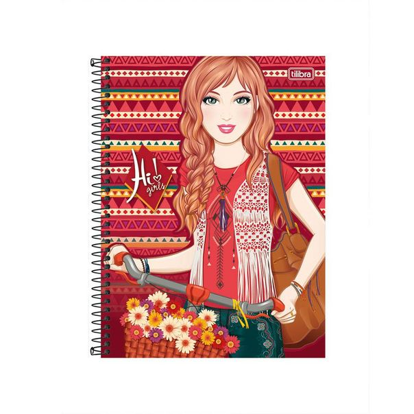 Caderno-universitario-Hi-Girls-com-10-materias-Tilibra