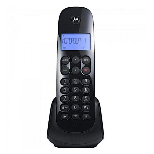 Telefone-digital-sem-Fio-preto-Motorola
