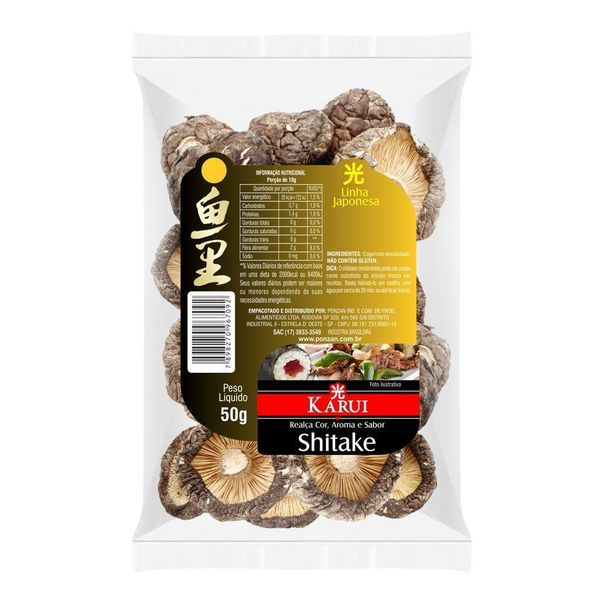 Cogumelo-shitake-Karui-50g