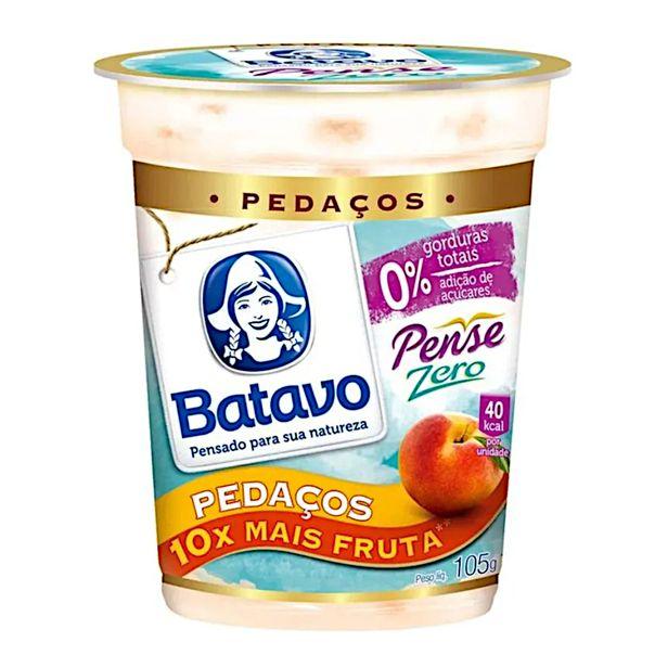 Iogurte-pedacos-pense-zero-sabor-pessego-Batavo-100g