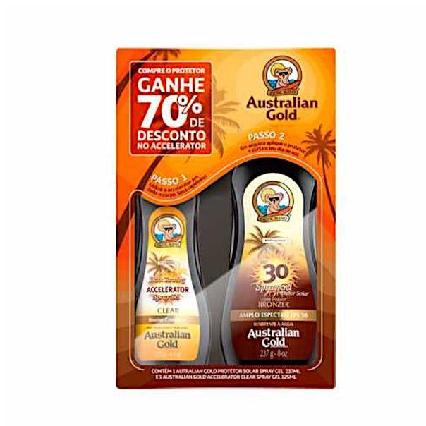Kit-protetor-solar-e-bronzeador-fps30-Australian-Gold-125ml