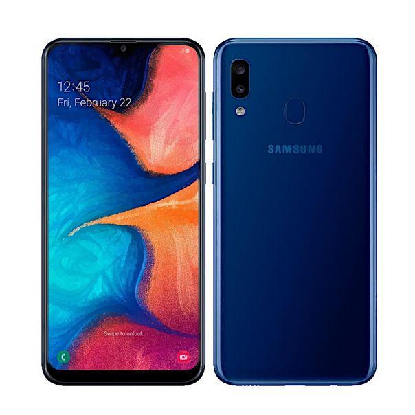 Smartphone-galaxy-a20-32gb-dual-azul-Samsung-