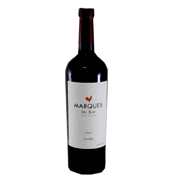 Vinho-argentino-roble-blend-Marques-del-Sur-750ml