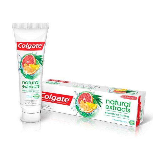 Creme-dental-natural-extracts-defesa-reforcada-Colgate-90g