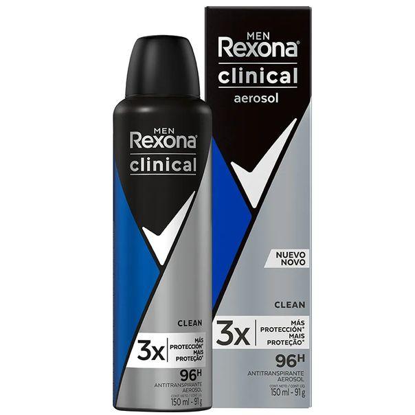 Desodorante-aerosol-clinical-masculino-clean-Rexona-91g