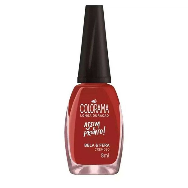 Esmalte-cremoso-bela-fera-Colorama-8ml