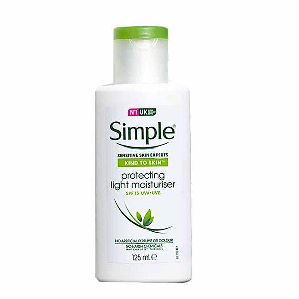 Hidratante-facial-moisturiser-protects-fps15-Simple-125ml