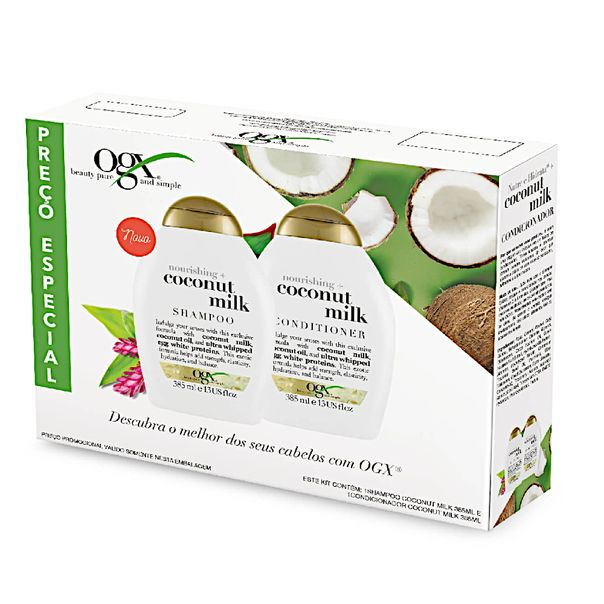 Kit-shampoo---condicionador-coconut-Milk-OGX-385ml