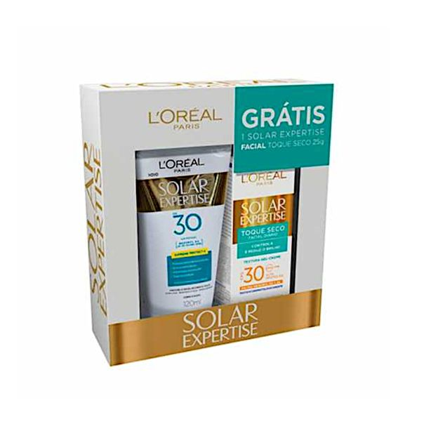 Kit-protetor-solar-expertise-fpd30-120ml---protetor-facial-antirrugas-fps30-L-Oreal