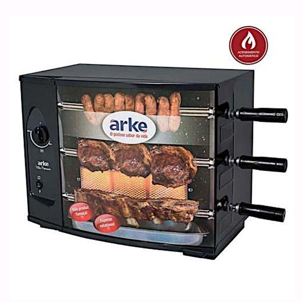 Churrasqueira-assador-eletrico-vitta-smart-3-espetos-Arke-127v
