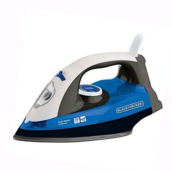 Ferro-a-vapor-azul-Black-Decker-220v