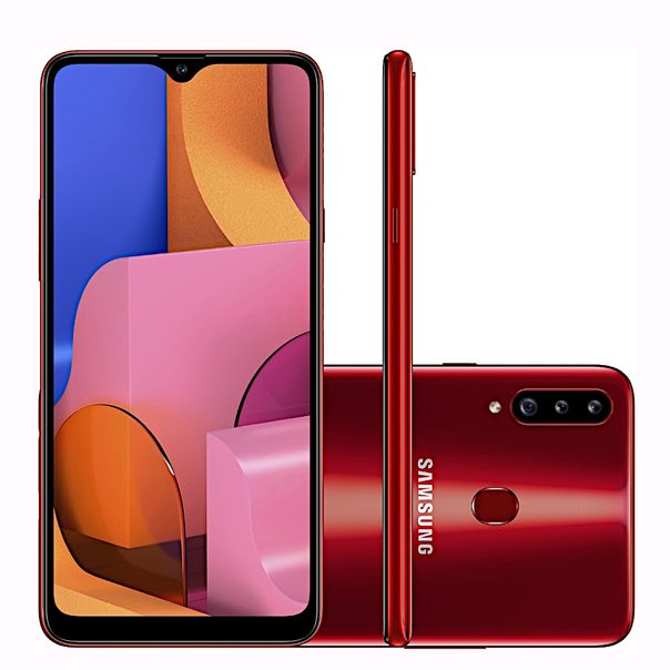 Smartphone-galaxy-a20s-vermelho-32gb-Samsung