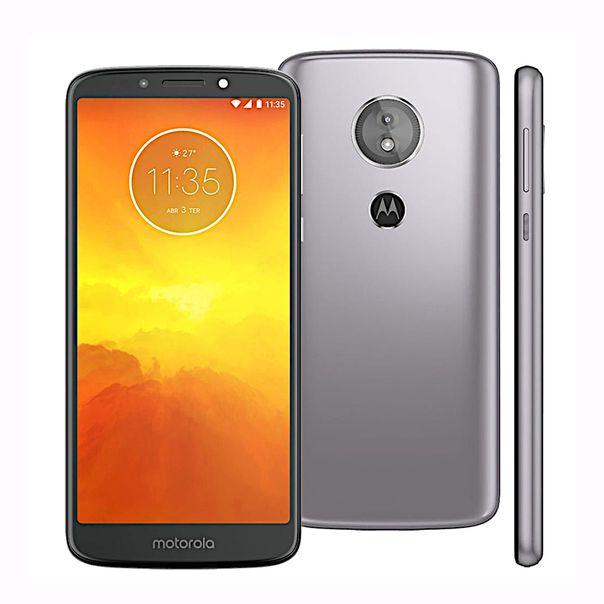 Smartphone-moto-E5-16gb-platinum-Motorola