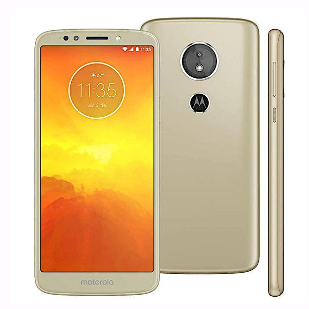 Smartphone-moto-E5-16gb-ouro-Motorola