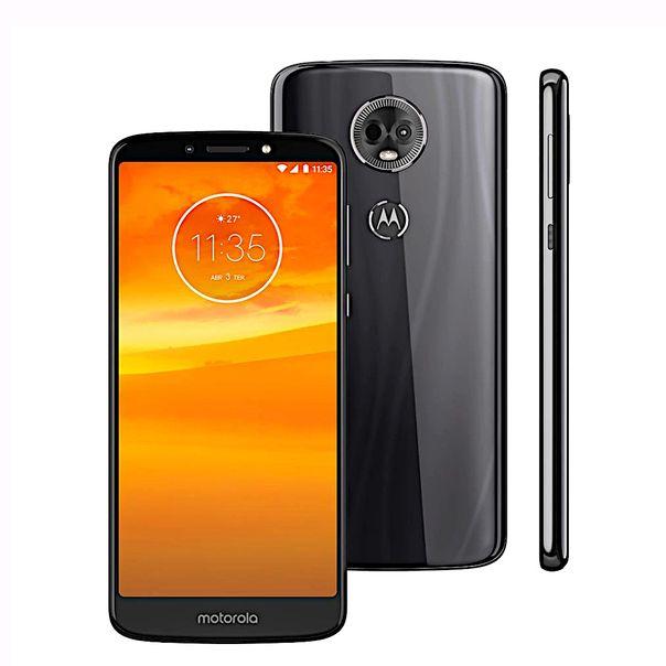 Smartphone-moto-E5-plus-xt1924-grafite-16gb-Motorola-