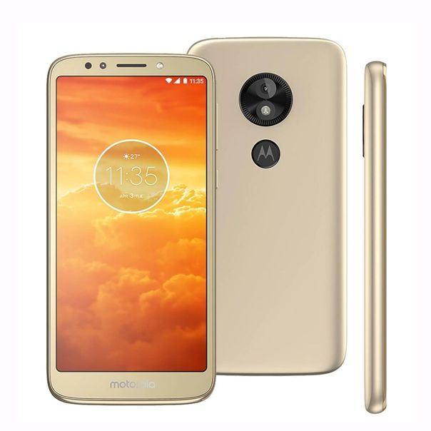 Smartphone-moto-E5-play-xt192019-ouro-16gb-Motorola