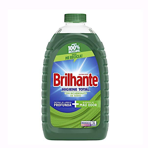 Lava-roupas-liquido-higiene-total-Brilhante-3-litros