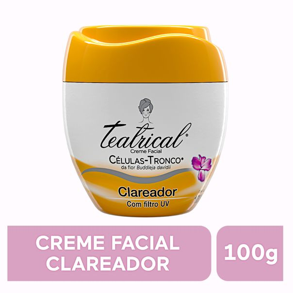 Creme-facial-clareador-Teatrical-100g