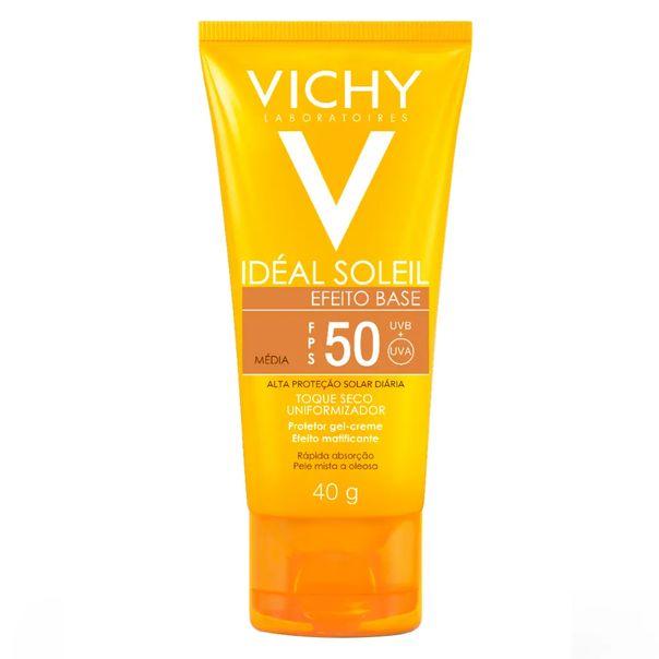 protetor-solar-ideal-solei-efeito-base-cor-clara-fps50-vichy-40g-