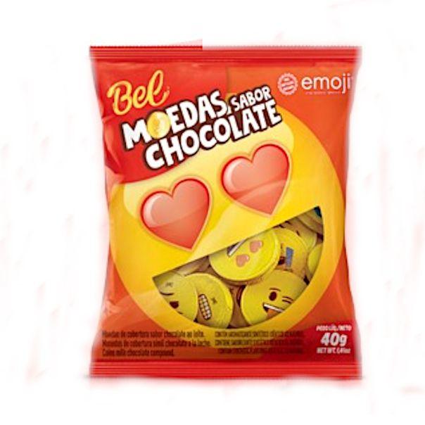 Chocolate-moeda-emoji-Bel-40g