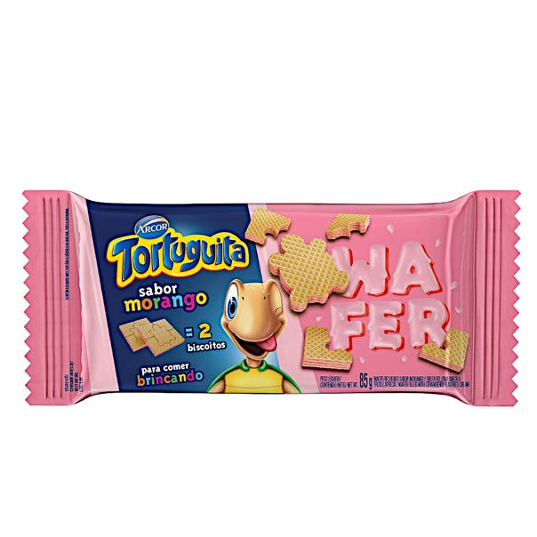 Biscoito-de-Wafer-Tortuguita-Morango-85g