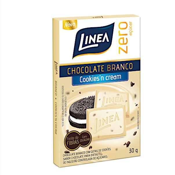 Chocolate-branco-cookiesn-cream-zero-acucar-Linea-Sucralose-30g