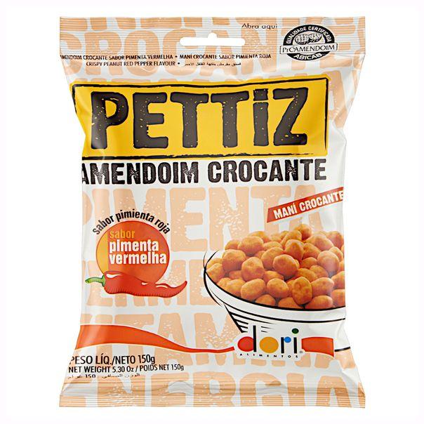 Amendoim-Crocante-Pimenta-Vermelha-Dori-Pettiz-Pacote-150g